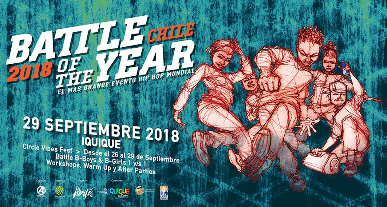 BATTLE OF THE YEAR  / Iquique